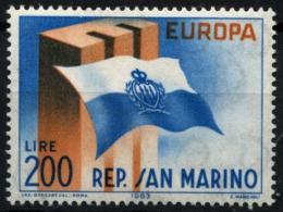 Poštovní známka San Marino 1963 Evropa CEPT Mi# 781