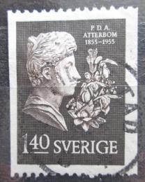 Poštovní známka Švédsko 1955 Per Daniel Amadeus Atterbom, básník Mi# 412 C
