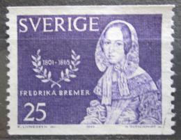 Poštovní známka Švédsko 1965 Fredrika Bremer, spisovatelka Mi# 540 A