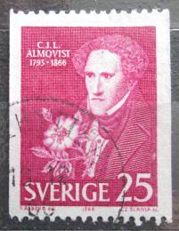 Poštovní známka Švédsko 1966 Carl Jonas Love Almqvist, spisovatel Mi# 558 C