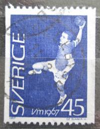 Poštovní známka Švédsko 1967 MS v házené Mi# 568 C