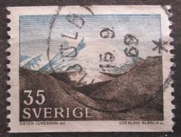 Poštovní známka Švédsko 1967 Pohoøí Fjäll Mi# 575 A