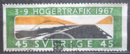 Poštovní známka Švédsko 1967 Silnice Mi# 589