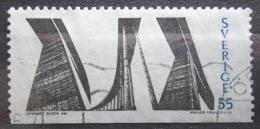 Poštovní známka Švédsko 1969 Most Mi# 652 Du
