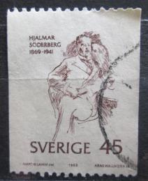Poštovní známka Švédsko 1969 Hjalmar Söderberg, spisovatel Mi# 653 C