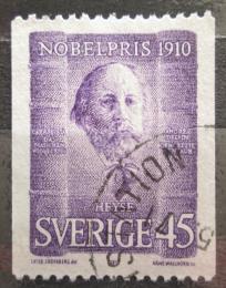Poštovní známka Švédsko 1970 Paul Johann Ludwig Heyse Mi# 697 C