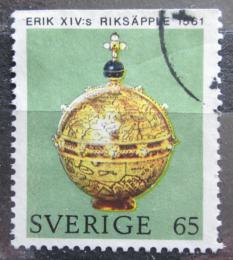 Poštovní známka Švédsko 1971 Královské jablko Mi# 726 Do