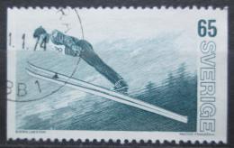 Poštovní známka Švédsko 1973 Skoky na lyžích Mi# 836
