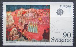 Poštovní známka Švédsko 1975 Evropa CEPT, umìní, Eric Hallström Mi# 899