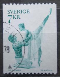 Poštovní známka Švédsko 1975 Balet Romeo a Jùlie Mi# 925 y