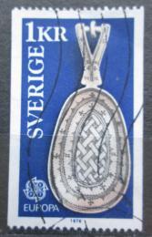 Poštovní známka Švédsko 1976 Evropa CEPT, rukodìlné umìní Mi# 943