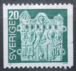Poštovní známka Švédsko 1976 Umìní Mi# 955 x