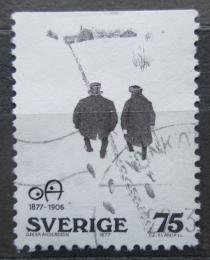Poštovní známka Švédsko 1977 Karikatura, Oskar Andersson Mi# 981 Do