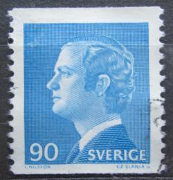 Poštovní známka Švédsko 1975 Král Karel XVI. Gustav Mi# 901 A