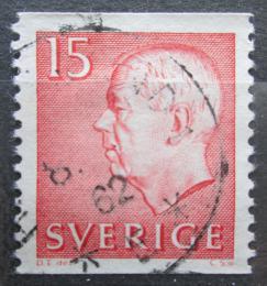 Poštovní známka Švédsko 1961 Král Gustav VI. Adolf Mi# 468 A