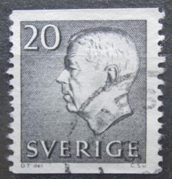 Poštovní známka Švédsko 1961 Král Gustav VI. Adolf Mi# 469 A
