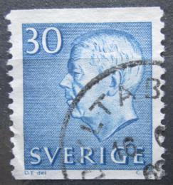 Poštovní známka Švédsko 1961 Král Gustav VI. Adolf Mi# 470 A