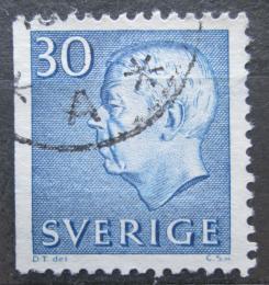 Poštovní známka Švédsko 1961 Král Gustav VI. Adolf Mi# 470 Dl
