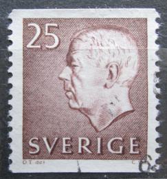 Poštovní známka Švédsko 1961 Král Gustav VI. Adolf Mi# 478 A