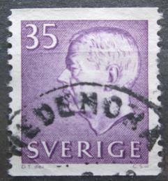 Poštovní známka Švédsko 1961 Král Gustav VI. Adolf Mi# 479 A