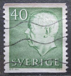Poštovní známka Švédsko 1961 Král Gustav VI. Adolf Mi# 480 A