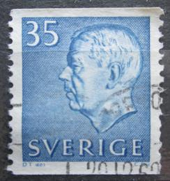 Poštovní známka Švédsko 1962 Král Gustav VI. Adolf Mi# 490 A