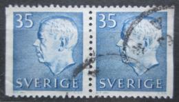 Poštovní známky Švédsko 1962 Král Gustav VI. Adolf Mi# 490 Dl-Dr