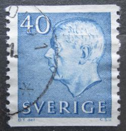 Poštovní známka Švédsko 1964 Král Gustav VI. Adolf Mi# 522 A