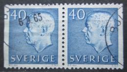 Poštovní známky Švédsko 1964 Král Gustav VI. Adolf Mi# 522 Dl-Dr
