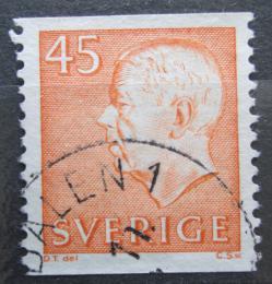 Poštovní známka Švédsko 1964 Král Gustav VI. Adolf Mi# 523 A