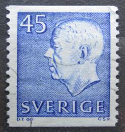 Poštovní známka Švédsko 1967 Král Gustav VI. Adolf Mi# 586 A