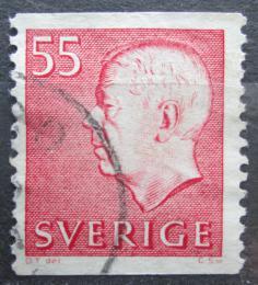 Poštovní známka Švédsko 1969 Král Gustav VI. Adolf Mi# 631 A