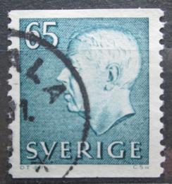 Poštovní známka Švédsko 1971 Král Gustav VI. Adolf Mi# 715 A