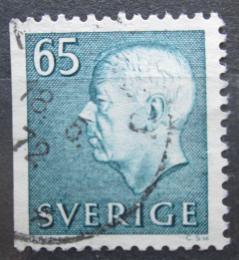 Poštovní známka Švédsko 1971 Král Gustav VI. Adolf Mi# 715 Dl