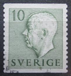 Poštovní známka Švédsko 1951 Král Gustav VI. Adolf Mi# 356 A