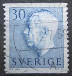 Poštovní známka Švédsko 1951 Král Gustav VI. Adolf Mi# 360 A