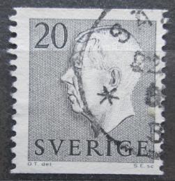 Poštovní známka Švédsko 1952 Král Gustav VI. Adolf Mi# 369 A