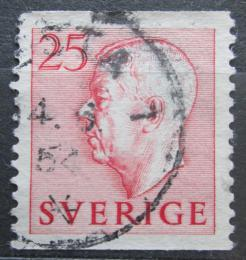 Poštovní známka Švédsko 1952 Král Gustav VI. Adolf Mi# 370 A