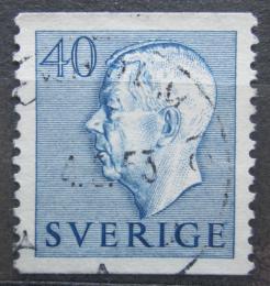 Poštovní známka Švédsko 1952 Král Gustav VI. Adolf Mi# 372 A