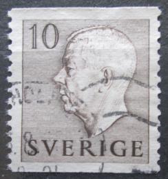 Poštovní známka Švédsko 1954 Král Gustav VI. Adolf Mi# 390 A
