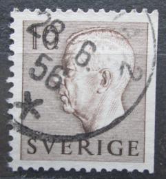 Poštovní známka Švédsko 1954 Král Gustav VI. Adolf Mi# 390 Dr