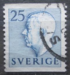 Poštovní známka Švédsko 1954 Král Gustav VI. Adolf Mi# 391 A
