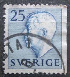 Poštovní známka Švédsko 1954 Král Gustav VI. Adolf Mi# 391 Dr