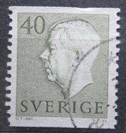 Poštovní známka Švédsko 1954 Král Gustav VI. Adolf Mi# 393 A