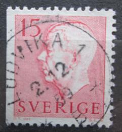 Poštovní známka Švédsko 1957 Král Gustav VI. Adolf Mi# 424 Dl