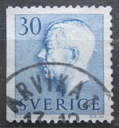 Poštovní známka Švédsko 1957 Král Gustav VI. Adolf Mi# 427 Dl