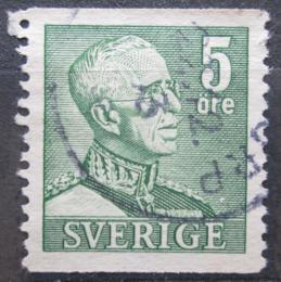 Poštovní známka Švédsko 1939 Král Gustav V. Mi# 255