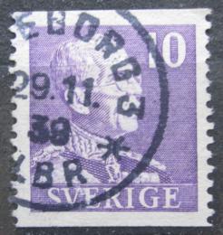 Poštovní známka Švédsko 1939 Král Gustav V. Mi# 256 IA