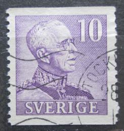 Poštovní známka Švédsko 1939 Král Gustav V. Mi# 256 IIA