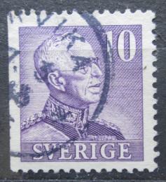 Poštovní známka Švédsko 1939 Král Gustav V. Mi# 256 IIDl
